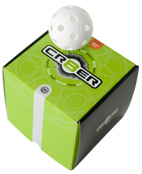 Match Ball Crater white 8-pack