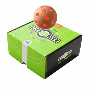 Match Ball Crater orange 4-pack