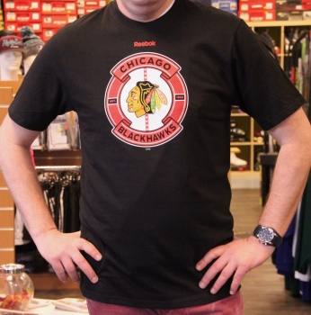 NHL Shirt Reebok Slick Pass SR Chicago