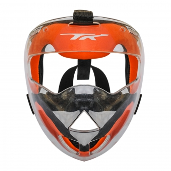 TK TOTAL THREE AFX 3.1 FACE MASK CLEAR-ORANGE